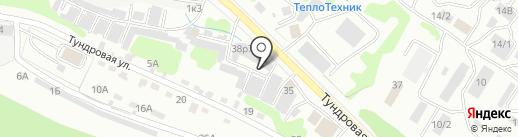 Мастерская по ремонту коробок передач на карте Петропавловска-Камчатского