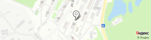 Отдел по частям гарнизона пос. Завойко на карте Петропавловска-Камчатского