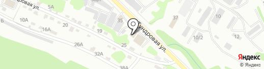 Авто-град на карте Петропавловска-Камчатского
