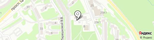 Отдел регистрационного учета населения №7 на карте Петропавловска-Камчатского