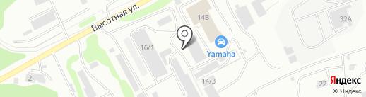 ТехноНИКОЛЬ на карте Петропавловска-Камчатского