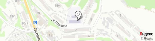 Детский сад №51 на карте Петропавловска-Камчатского