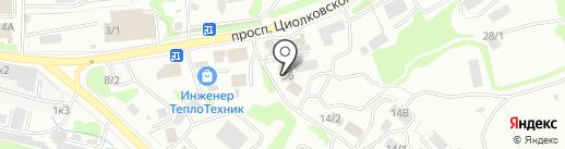 Car-Tech на карте Петропавловска-Камчатского