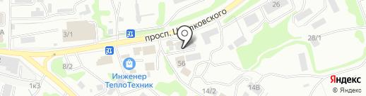 Колерная мастерская на карте Петропавловска-Камчатского
