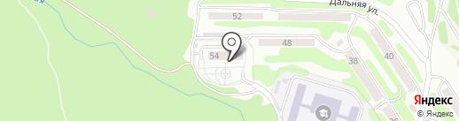 Социальное такси на карте Петропавловска-Камчатского