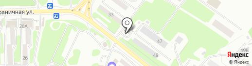 Специалист на карте Петропавловска-Камчатского