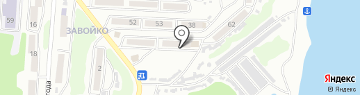Аптека №9 на карте Петропавловска-Камчатского