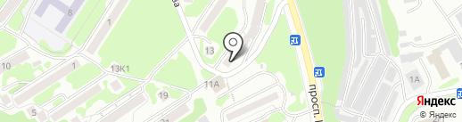Участковый пункт полиции на карте Петропавловска-Камчатского