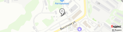 Автодекор на карте Петропавловска-Камчатского