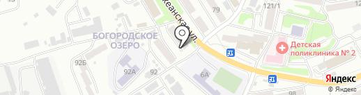 Кабинет доктора Звягина В.И. на карте Петропавловска-Камчатского
