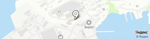 Магруд на карте Петропавловска-Камчатского