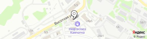 Лукойл на карте Петропавловска-Камчатского