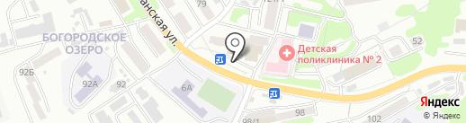 Отличные наличные на карте Петропавловска-Камчатского