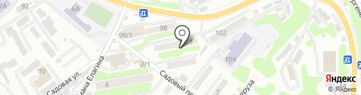 Фронт на карте Петропавловска-Камчатского