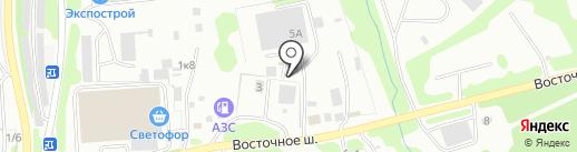 Мы с Камчатки на карте Петропавловска-Камчатского