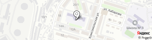 Детский сад № 40 на карте Петропавловска-Камчатского