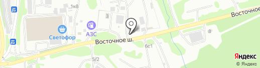 КИТ на карте Петропавловска-Камчатского
