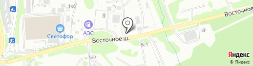 Россвет на карте Петропавловска-Камчатского