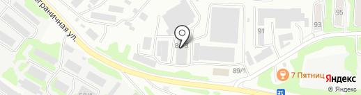 Автовиста на карте Петропавловска-Камчатского