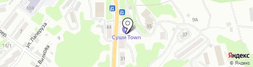Девятый вал на карте Петропавловска-Камчатского