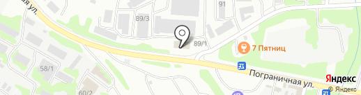 Спецремстрой, МУП на карте Петропавловска-Камчатского