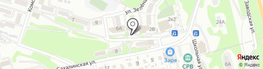 Аптека №61 на карте Петропавловска-Камчатского