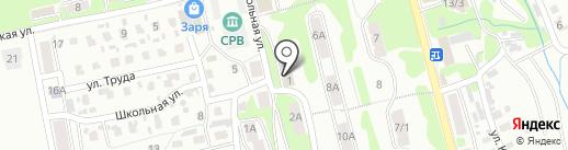 Рика на карте Петропавловска-Камчатского