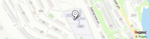 Вечерняя (сменная) общеобразовательная школа №13 на карте Петропавловска-Камчатского