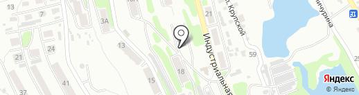 Избирательный участок №3 на карте Петропавловска-Камчатского