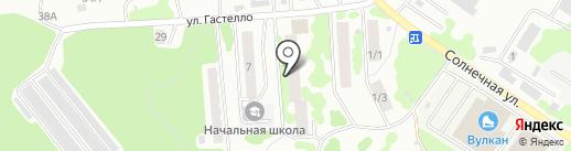 Радуга на карте Петропавловска-Камчатского