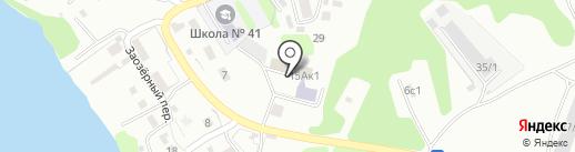 Детский дом №3 на карте Петропавловска-Камчатского