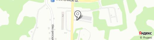 Спецтехмаш на карте Петропавловска-Камчатского