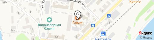 Салон ритуальных услуг на карте Балтийска