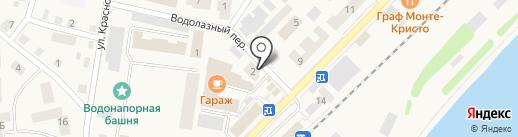 Магазин одежды на карте Балтийска