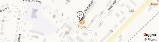 Банкомат, Сбербанк России на карте Балтийска