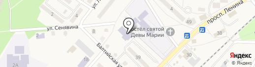Центральная детская городская библиотека им. М. Горького на карте Балтийска