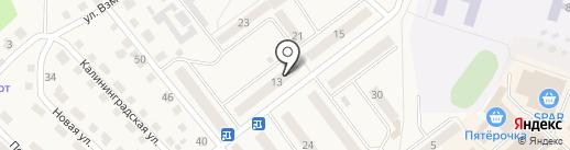Фонд центр поддержки малого и среднего предпринимательства Балтийского муниципального района на карте Балтийска