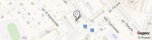 Шкатулка на карте Балтийска