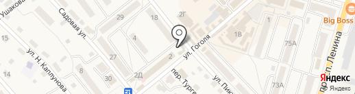 Магазин хозяйственных товаров на карте Балтийска