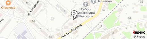 Kapous Professional на карте Балтийска