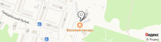 Автомойка самообслуживания на ул. Ушакова на карте Балтийска