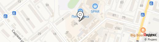 Первый оконный магазин на карте Балтийска