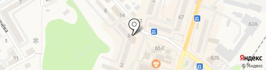 Сбербанк, ПАО на карте Балтийска