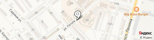 Магазин стройматериалов на карте Балтийска