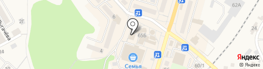 Стиль на карте Балтийска