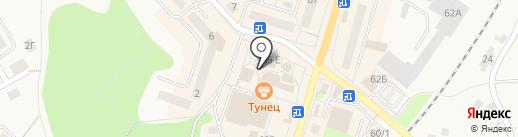 Магазин товаров для детей на карте Балтийска
