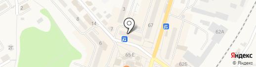 Сеть магазинов часов на карте Балтийска