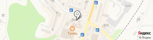 Магазин аккумуляторов на карте Балтийска