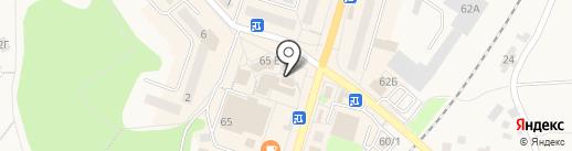 Эдельвейс на карте Балтийска