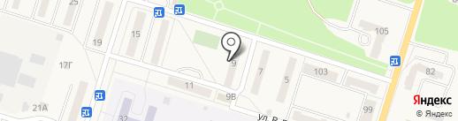 Магазин автотоваров на карте Балтийска